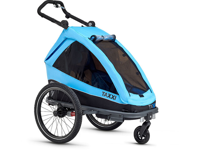 s'cool taXXi Elite Cykelanhænger for One blå (2019) | bike_trailers_component